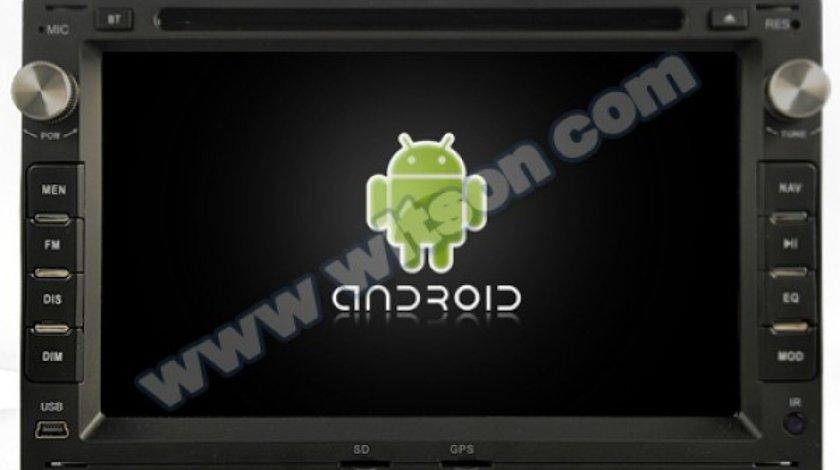 NAVIGATIE ANDROID 7.1 DEDICATA SKODA FABIA WITSON W2-K7229 QUADCORE 2GB RAM 16GB INTERNET 3G WAZE
