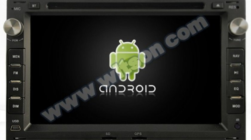 NAVIGATIE ANDROID 7.1 DEDICATA VW BORA WITSON W2-K7229 QUADCORE 2GB RAM 16GB INTERNET 3G WAZE