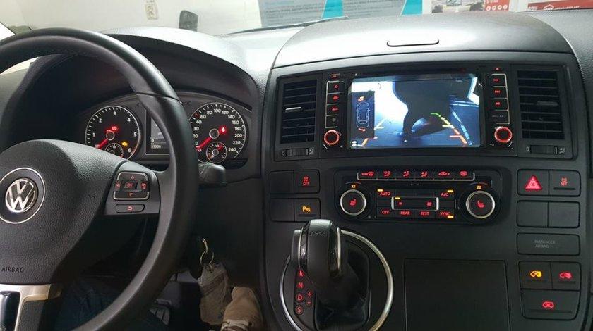NAVIGATIE ANDROID 7.1 DEDICATA VW TOUAREG 2002 - 2010 2GB RAM DVR CARKIT GPS NAVD-A9200