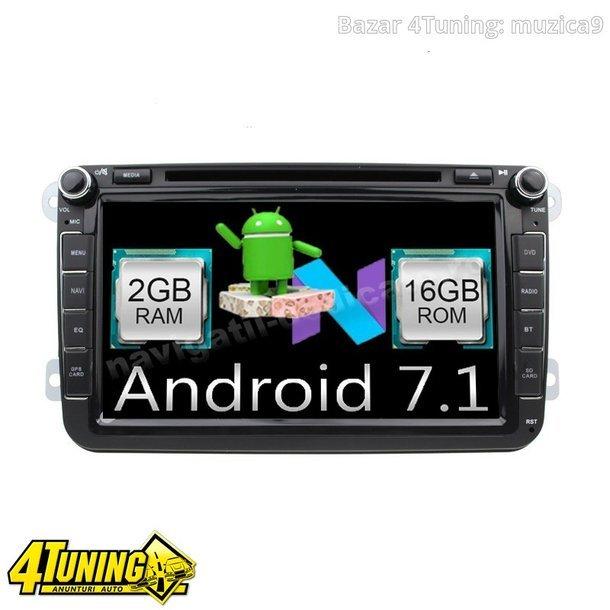 Navigatie Android 7.1 SKODA OCTAVIA 2(necesita masca originala Skoda) Carkit NAVD-A9240