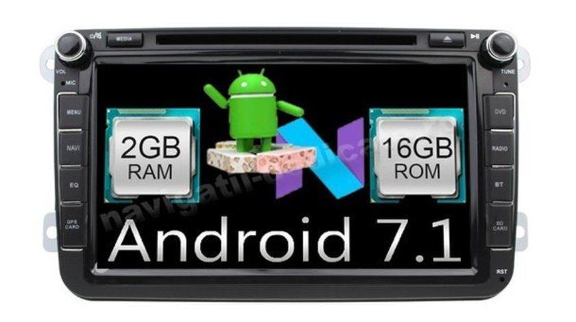 Navigatie Android 7.1 Vw TIGUAN Carkit NAVD-A9240