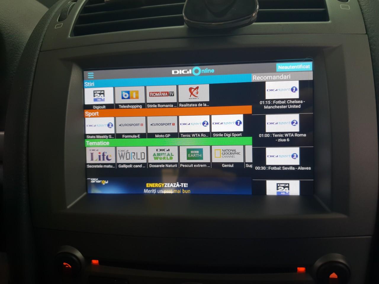 NAVIGATIE ANDROID 8.0 DEDICATA PEUGEOT 407 WITSON W2-V5588 INTERNET 4G WIFI OCTA CORE PX5 GPS WAZE