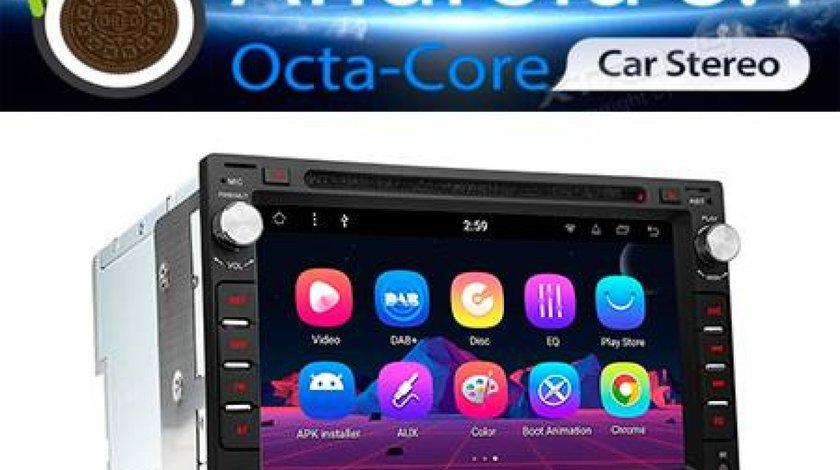 NAVIGATIE ANDROID 8.0 DEDICATA SKODA FABIA MODEL XTRONS PR78MTW OCTA CORE 2G RAM 16GB CARKIT MIRROR