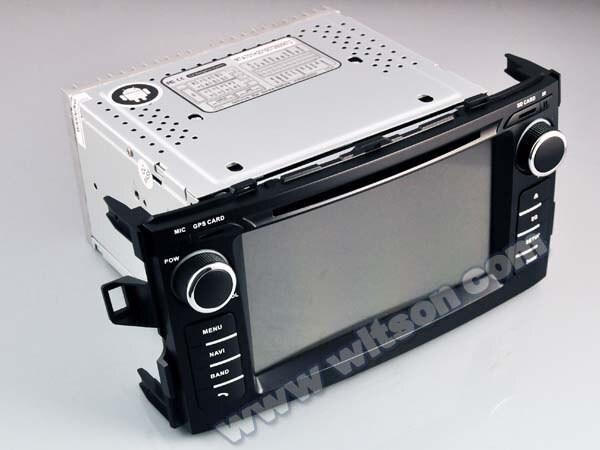 NAVIGATIE ANDROID 8.0 DEDICATA TOYOTA AURIS 2007-2012 WITSON W2-V5730 INTERNET 4G WIFI GPS WAZE