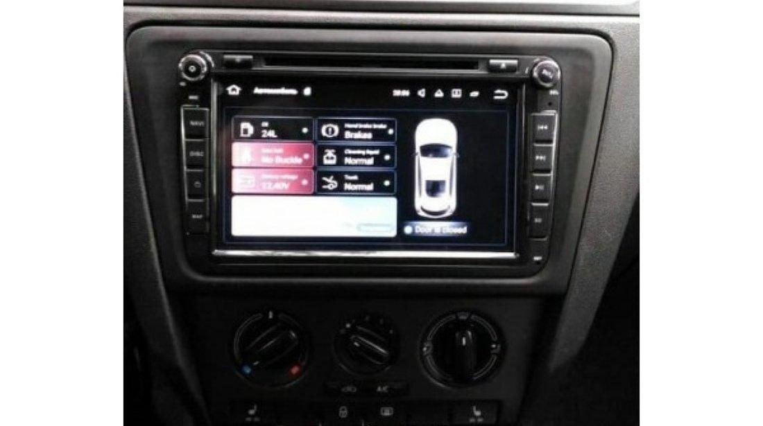NAVIGATIE ANDROID 8.0 DEDICATA VW BORA  WITSON W2-V7617 ECRAN 8'' CAPACITIV INTERNET 4G WIFI WAZE