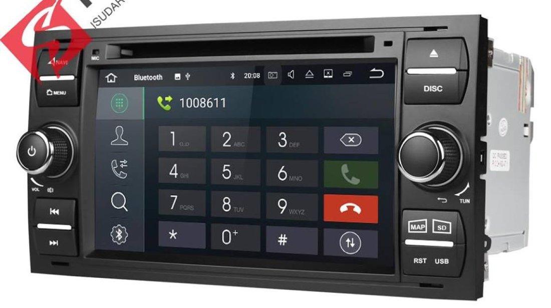 NAVIGATIE ANDROID 8.1 DEDICATA FORD KUGA ECRAN IPS 16GB DVD CARKIT USB SD GPS WAZE NAV-D9488B