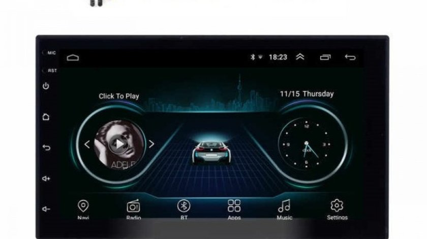 NAVIGATIE ANDROID 8.1 DEDICATA Nissan NAVARA USB INTERNET WAZE DVR GPS EDOTEC EDT-E200
