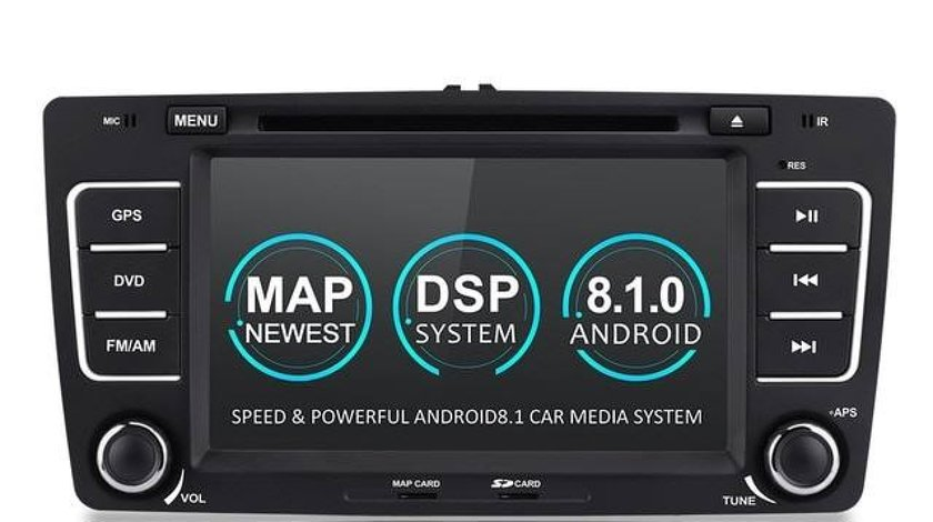 NAVIGATIE ANDROID 8.1 DEDICATA SKODA TOUR 2 WITSON W2-K6201 ECRAN IPS 8'' 16GB 2GB RAM INTERNET 3
