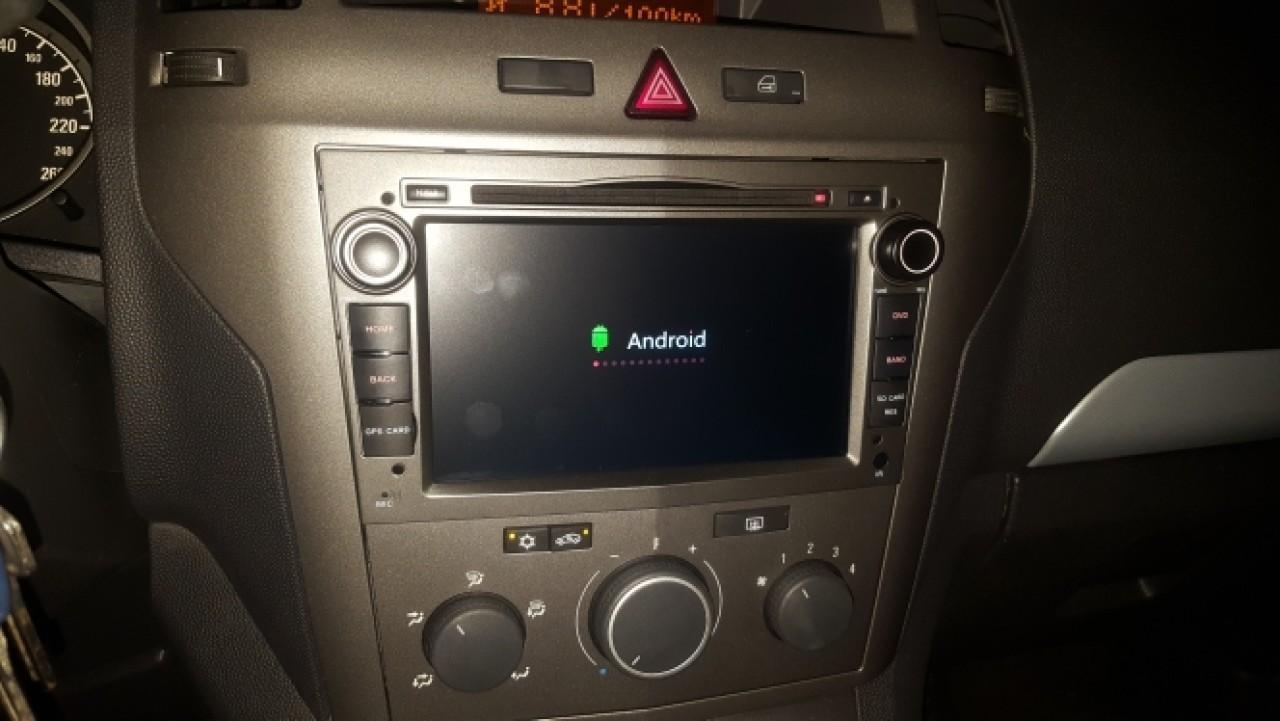 NAVIGATIE ANDROID 8.1 NAVD-MT019 DEDICATA OPEL VECTRA C  GPS WAZE CAMERA BONUS!