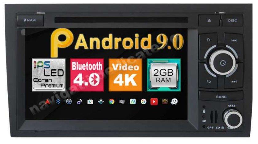 NAVIGATIE ANDROID 9.0 DEDICATA AUDI A4 S4 RS4 SEAT EXEO ECRAN IPS 7'' 16GB 2GB  INTERNET NAVD-MT050