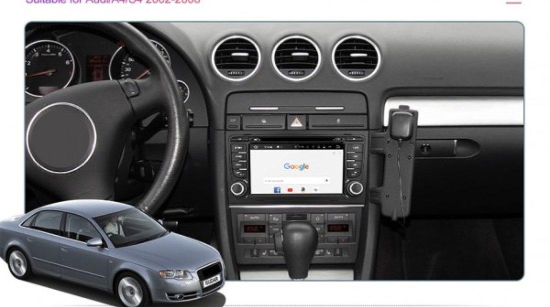 NAVIGATIE ANDROID 9.0 DEDICATA AUDI A4 S4 RS4 SEAT EXEO ECRAN IPS 7'' 16GB 2GB RAM INTERNET 3G WIFI