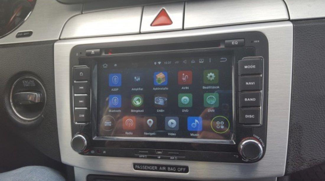 NAVIGATIE ANDROID 9.0 DEDICATA VW GOLF 6 ECRAN IPS 7'' 16GB 2GB RAM INTERNET 3G WIFI QUAD-CORE GPS