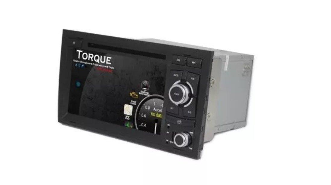NAVIGATIE ANDROID 9.1 DEDICATA AUDI A4 S4 RS4 SEAT EXEO ECRAN IPS 7'' WIFI GPS WAZE VAG NAV 6700 PRO