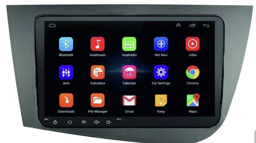 Navigatie Android - 9 inch Seat Leon Altea Toledo-dedicata+rama mare