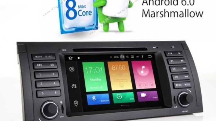 Navigatie Android BMW E39 E53 QUAD CORE Carkit Internet NAVD-P082