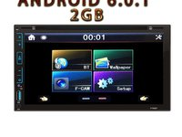 NAVIGATIE ANDROID CARPAD UNIVERSALA DVD PLAYER AUTO 2DIN CU USB SD MIRRORLINK WAZE MODEL CMP6023