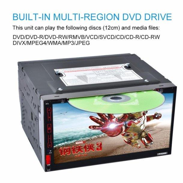NAVIGATIE ANDROID CARPAD UNIVERSALA DVD PLAYER AUTO 2DIN CU USB SD MIRRORLINK WAZE MODEL CMP6023