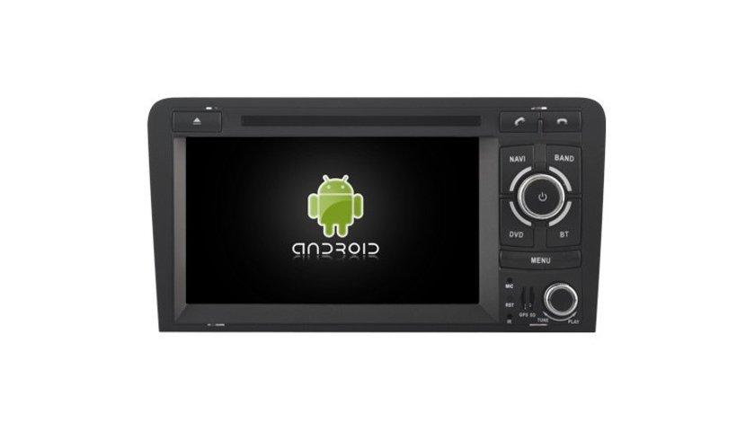NAVIGATIE ANDROID DEDICATA AUDI A3 S3 RS3 NAVD-A049 INTERNET WIFI 3G PROCESOR QUAD-CORE 16GB FULLHD