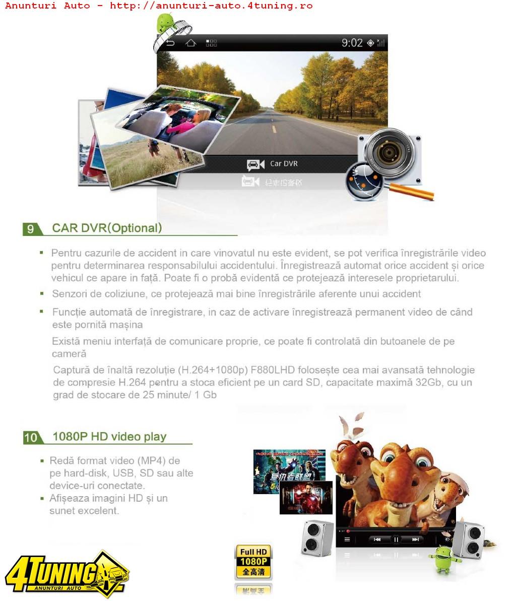 NAVIGATIE ANDROID DEDICATA AUDI A3 WITSON W2 I049 PLATFORMA S150 INTERNET 3G WIFI PROCESOR SAMSUNG A8 1GHZ DVR HARD INTERN CARKIT BLUETOOTH PRELUARE AGENDA TELEFONICA MIRROR LINK MODEL PREMIUM