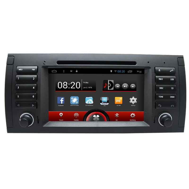 NAVIGATIE ANDROID DEDICATA BMW BMW X5 E53 1999-2006 GPS INTERNET 3G WIFI WAZE QUAD-CORE 16 GB CARKIT