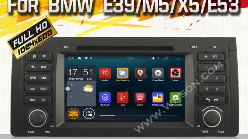 NAVIGATIE ANDROID DEDICATA BMW M5 WITSON W2-F9757B WAZE 3G WIFI 16GB