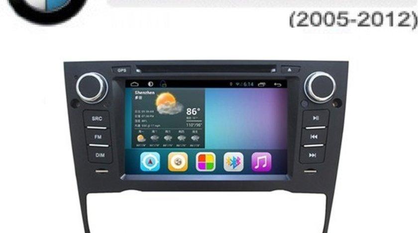 NAVIGATIE ANDROID DEDICATA BMW SERIA 3 E90 91 92 93 SERIA 1 E81 82 EW803P INTERNET 3G WIFI