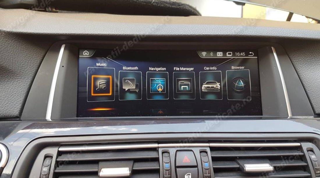 Navigatie Android Dedicata BMW Seria 5 F10 F11 CIC Bluetooth GPS USB Edotec EDT-F10-CIC-F