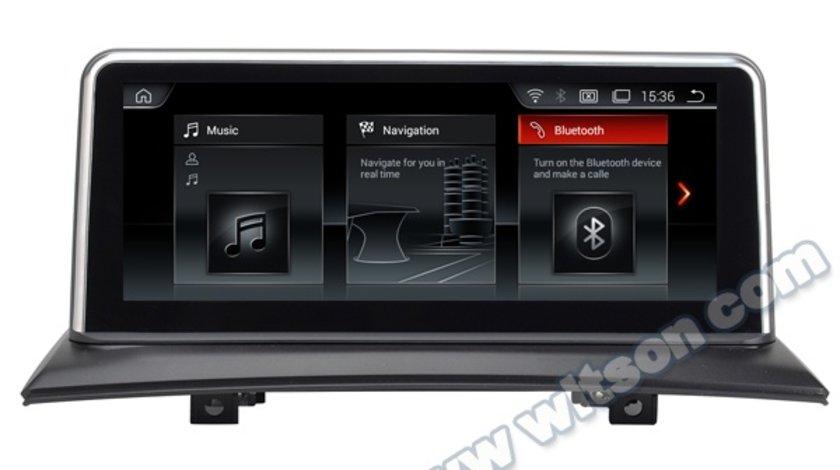 """Navigatie Android Dedicata BMW X3 E83 CARPAD 10.25"""" WITSON BL8283 Bluetooth USB GPS WAZE 4G WIFI"""