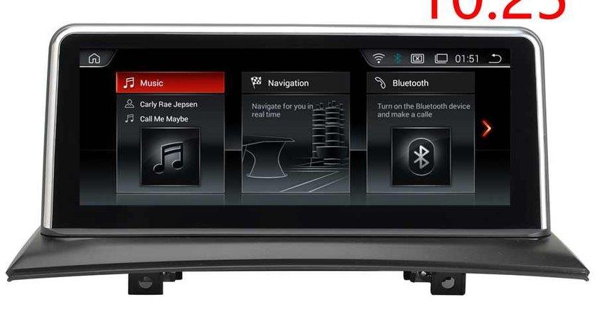 "Navigatie Android Dedicata BMW X3 E83 Carpad Monitor 10.25"" NAVD-X3 E83 Bluetooth GPS WAZE USB"