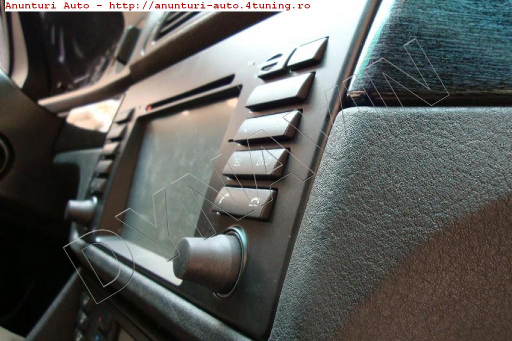 NAVIGATIE ANDROID DEDICATA BMW X5 E53 SERIA 5 E39 SERIA 7 E38 QUAD-CORE 16 GB CARKIT PRELUARE AGENDA