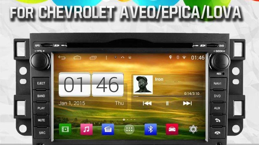 NAVIGATIE ANDROID DEDICATA CHEVROLET AVEO CAPTIVA EPICA WITSON W2-M020 PLATFORMA S160 QUADCORE 16 GB