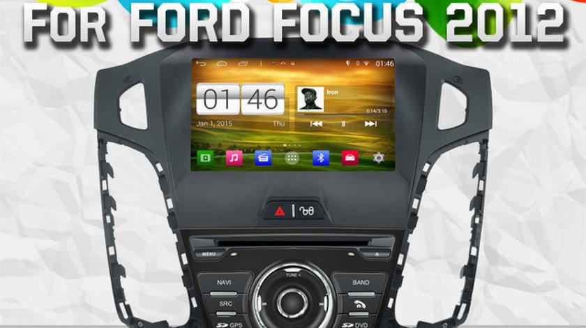 NAVIGATIE ANDROID DEDICATA FORD FOCUS 3 MK3 WITSON W2-M150 PLATFORMA S160 DVD GPS DVR WAZE