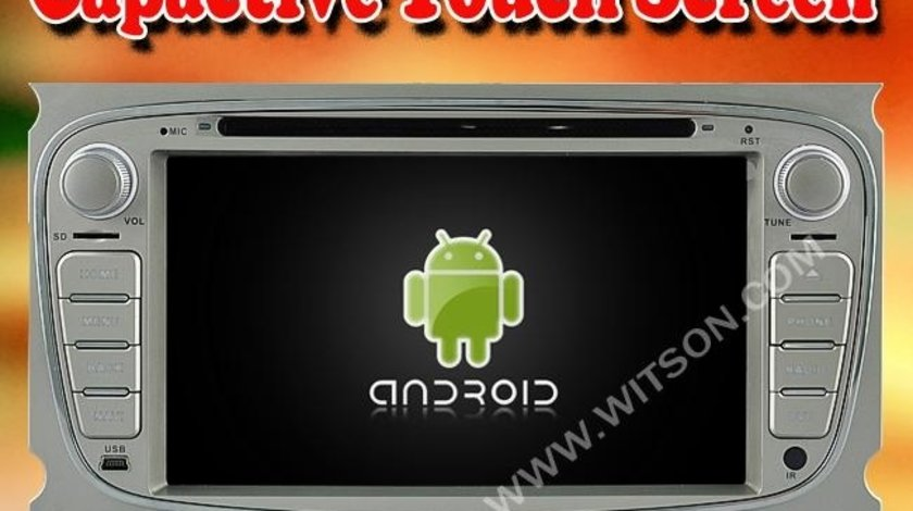 Navigatie Android Dedicata Ford Mondeo Focus 2 Galaxy Witson W2 A9004S