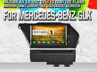 NAVIGATIE ANDROID DEDICATA MERCEDES-BENZ GLK X204 WITSON W2-M266 PLATFORMA S160 16GB QUADCORE