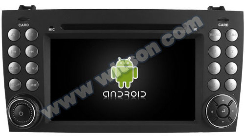 NAVIGATIE ANDROID DEDICATA MERCEDES-BENZ SLK W171 WITSON W2-RH5576 QUADCORE 2GB RAM 16GB INTERNET 3G