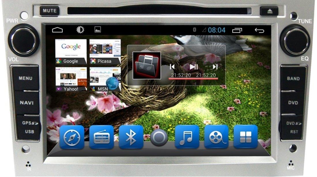 NAVIGATIE ANDROID DEDICATA OPEL ASTRA H Edotec EDT-G019 PROCESOR QUADCORE 16 GB INTERNET 3G WIFI