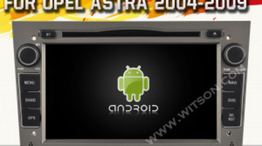 NAVIGATIE ANDROID DEDICATA OPEL ASTRA H VECTRA CORSA WITSON W2-A9828L INTERNET WIFI MIRRORLINK WAZE
