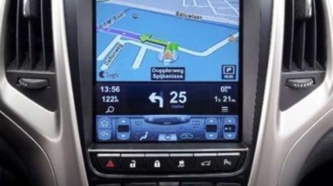 NAVIGATIE ANDROID DEDICATA OPEL ASTRA J ECRAN 10.4'' TESLA STYLE OCTACORE 4G WIFI 32GB DVR GPS WAZE