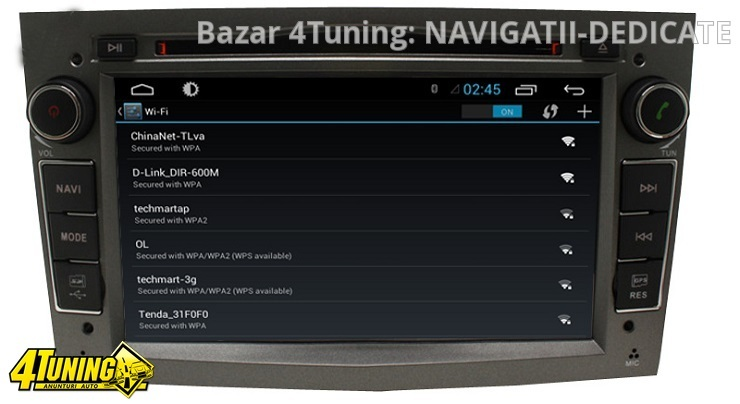 NAVIGATIE ANDROID DEDICATA Opel Combo Edotec EDT-G019 PROCESOR QUADCORE 16 GB INTERNET 3G WIFI