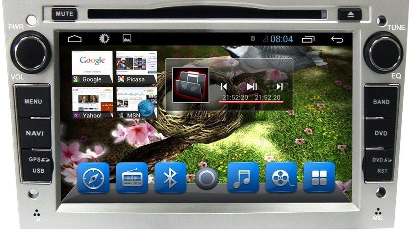 NAVIGATIE ANDROID DEDICATA OPEL CORSA D Edotec EDT-G019 PROCESOR QUADCORE 16 GB INTERNET 3G WIFI