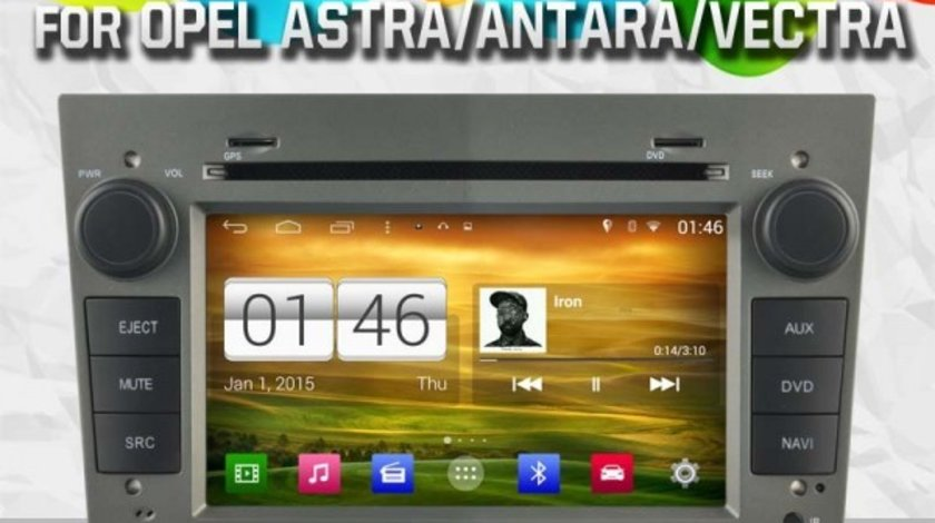 NAVIGATIE ANDROID DEDICATA OPEL CORSA D WITSON W2-M019 S160 3G WIFI MIRROR LINK MODEL PREMIUM