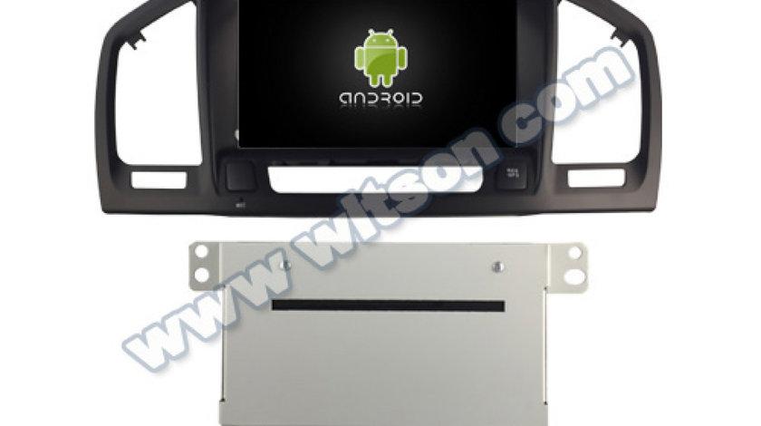 NAVIGATIE ANDROID DEDICATA OPEL INSIGNIA WITSON W2-K7987B INTERNET 4G WIFI 2G RAM 16GB DVD GPS WAZE