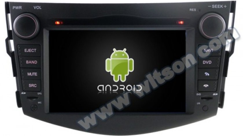 NAVIGATIE ANDROID DEDICATA TOYOTA RAV4 2006-2012 WITSON W2-M018 S160 INTERNET 3G WIFI DVD GPS WAZE