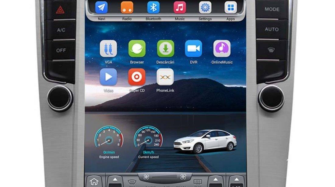 NAVIGATIE ANDROID DEDICATA VW PASSAT EDOTEC EDT-T305 ECRAN 10.4'' TESLA STYLE OCTACORE 4G WIFI 32GB