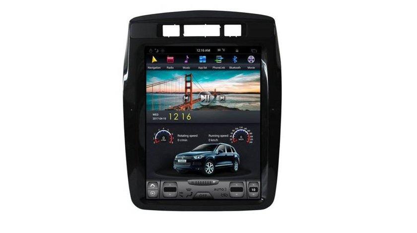 NAVIGATIE ANDROID DEDICATA VW TOUAREG 2010 - 2017 7P EDT-T1048 ECRAN 10.4'' TESLA STYLE OCTACORE 4G