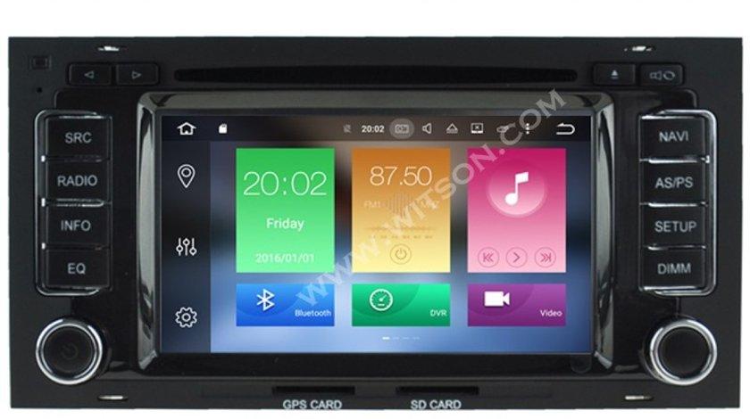 NAVIGATIE ANDROID DEDICATA VW TOUAREG 7L  WITSON W2-B5769 OCTA CORE 2G RAM 32GB