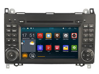 Navigatie Android Mercedes CLASA A /  A CLASS W169 Quad Core Carkit Internet NAVD-A068