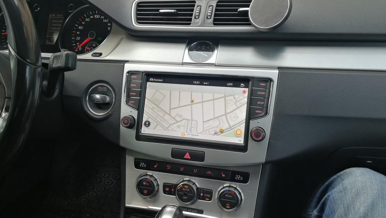 Navigatie Android MiB886 dedicata Volkswagen Passat B6 B7 CC look si meniuri 100% OEM
