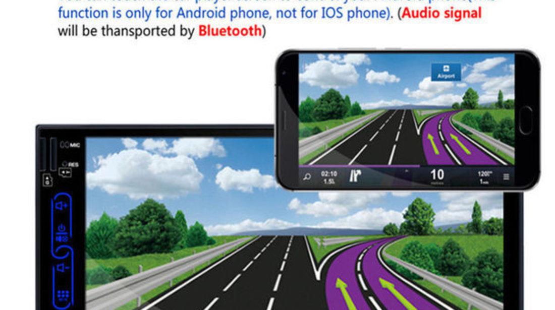 NAVIGATIE ANDROID Nissan micra DVD PLAYER AUTO 2DIN CU USB SD DVR MIRRORLINK WAZE MODEL CMP6023