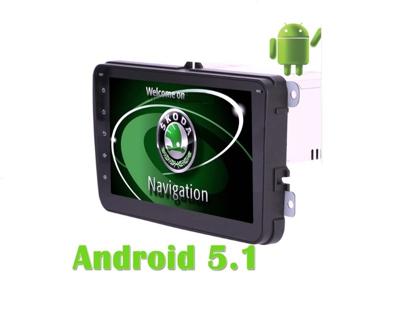 Navigatie Android Octa Core Skoda, Fabia, Skoda Octavia Roomster, Skoda Yeti